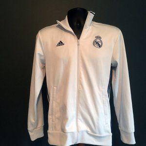 Adidas New Madrid Soccer Warm Up Jacket EUC